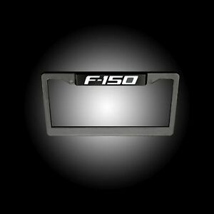 RECON 264311F150 Ford F-150 Illuminated Logo Red-Black License Plate LED