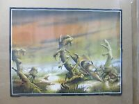 Web of the world  Vintage Poster 1970's fantasy Inv#G4570