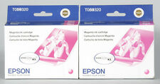 EPSON STYLUS PHOTO R2400 MAGENTA INK CARTRIDGE T059320 SET OF 2