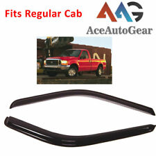 AAG Window Deflector Visor Vent Sun Guard For 1999-2016 Ford F-250 Regular Cab