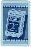 Playing Cards 1 Single Card Old Vintage CAPSTAN Box 10 CIGARETTES Advertising 2