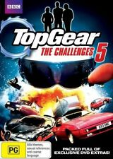 TOP GEAR The Challenges 5 (Clarkson Hammond May) DVD NEW SEALED Region 4 TopGear