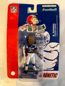 Edgerrin James Indianapolis Colts Mini Bobble Head/Mag