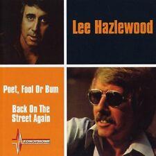 Lee Hazlewood Poet, Fool Or Bum/Back On The Streets Again 2on1 CD NEW SEALED