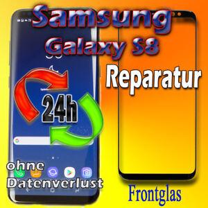 24 Stunden Display Reparatur Samsung Galaxy S8 SM-G950F Frontglas Glas Austausch