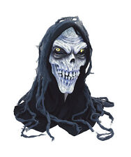 Evil Corpse Hooded Mask Horror Halloween Fancy Dress Costume Outfit P7805