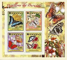 Burundian Sheet Animal Kingdom Postal Stamps