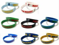 NBA Club Rubber Silicone Bracelet Fashion Basketball Team Sport Cuff Wristband