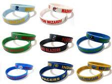 NBA Club Rubber Silicone Bracelet Fashion Basketball Team Sport Cuff Wristband