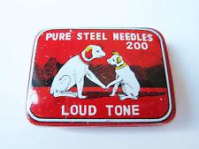 Grammophon NADELDOSE PURE STEEL NEEDLES gramophone needle tin