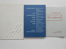 WALTER JENS Hamburg Tübingen Ludwig UHLAND Herbert Kraft Werkverzeichnis