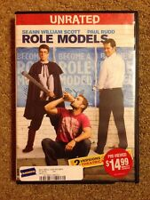 ROLE MODELS DVD UNRATED THEATRICAL Paul Rudd Sean William Scott Banks Lynch