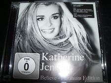 Katherine Jenkins ‎– Believe - Platinum Edition CD DVD Edition – Like New