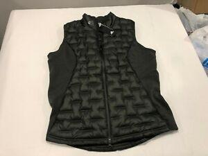 NWT $150.00 Adidas Golf Mens Frost Guard Insulated Down Vest Dark Green Sz XL