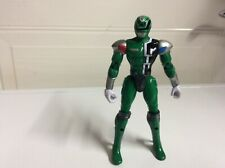 Power Rangers SPD  Battlized Green Power Ranger 3 Action Figure 2004 Bandai 6""