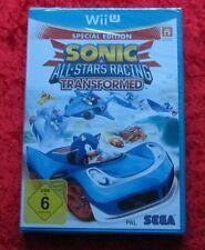 Sonic All Stars Racing Transformed Nintendo WiiU Spiel Neu OVP, deutsche Version