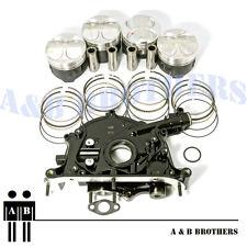 Fit B16A2 B16A3 Vtec High Performance Pistons + Rings O/S 0.50mm + Oil Pump Kit