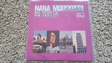 Nana Mouskouri - In Italia Vinyl LP AUSTRALIA SUNG IN ITALIAN