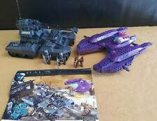 Mega Bloks Halo ODST Covenant Invasion Set 96853 100% Complete