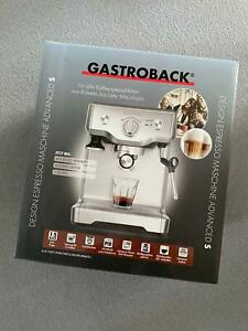 Gastroback Design Espresso Maschine Advanced S *NEU+OVP*