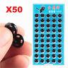1Set 50Pcs Metal Snap Fasteners Press Button Stud Black DIY Sewing Crafts 10mm