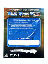 Rocket League Collector's Edition Extra Content Playstation 4-Code Téléchargement