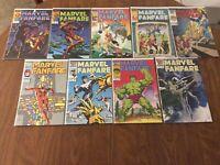 MARVEL FANFARE 22-30, Complete Set of 9, Iron Man, Hulk (29), Moon Knight,