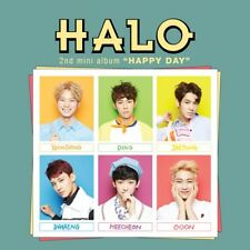 HALO [HAPPY DAY] 2nd Mini Album CD+Photobook+Photocard K-POP SEALED