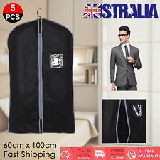 5Pcs Home Storage Protect Cover Travel Bag for Garment Suit Dress Clothes Coat