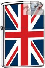 Zippo 7961 united kingdom flag Lighter with PIPE INSERT PL
