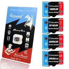 Cloudisk Games Ready Memory Cards 256GB 128GB 64GB Micro SD U3 U1 Class10
