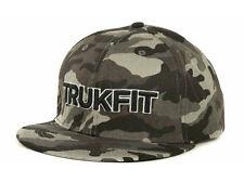 Trukfit Gray Camo Snapback Flat Bill Cap Hat  OSFM
