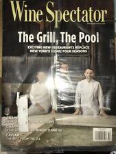 Wine Spectator Magazine Lot Of 4 December 2017 April June 2019 Jan 2020