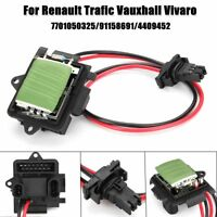 Heater Blower Fan Motor Resistor For Renault Trafic Vauxhall Vivaro 7701050325