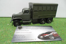 CAMION GMC au 1/50 SOLIDO 56 MADE IN FRANCE véhicule de transport militaire