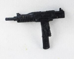 1982 GI Joe Snake Eyes Stalker ORIGINAL v1 Black Uzi Action Force UK Version