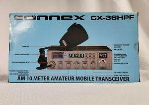 Connex CX-36HPF - AM 10 Meter Mobile Transceiver