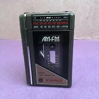 Vintage GE Radio Tape Cassette Player 3-5470B Portable AM/FM Tested