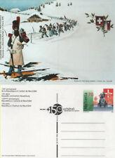Echte postfrische schweizer Briefmarken mit Geschichts-Motiv