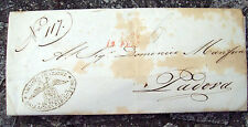 1844 Letter Prephilatelic From The House Of Shelter Of Venice Padova