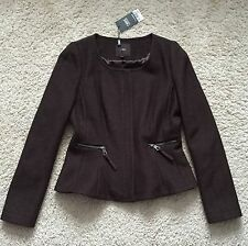 Zip Wool Blend Business Coats & Jackets for Women