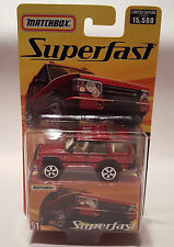 Matchbox Superfast # 51 Red Land Rover Discovery