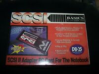 SCSI II Adapter PC Card For The Notebook NMC04012 - PCMCIA