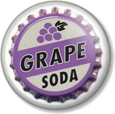 GRAPE SODA 25mm Pin Button Badge Novelty Drink Movies Up! Cute Bottle Cap Top