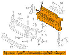 LAND ROVER OEM 10-16 LR4 Radiator Core Support-Lower Air Guide LR055300