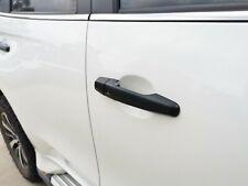 Matt Black Door Handle Cover Protector for Mitsubishi Triton MQ MR 15-20 Keyless