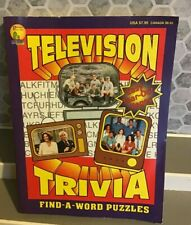 New listing Paradise Press Vintage Television Trivia Find A Word  Mash Mommas Family +More