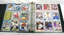 Baseball Card Album with over 200 Cards - Vintage - Assorted - Johnny Bench
