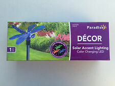 Paradise GL23127D Dragonfly Solar Stick Light with Color Changing LED