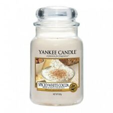 Yankee Candle Large Jar Spiced White Cocoa